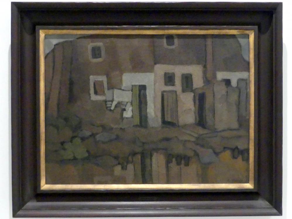Rafael Barradas: Landschaft bei Cornellà, 1926