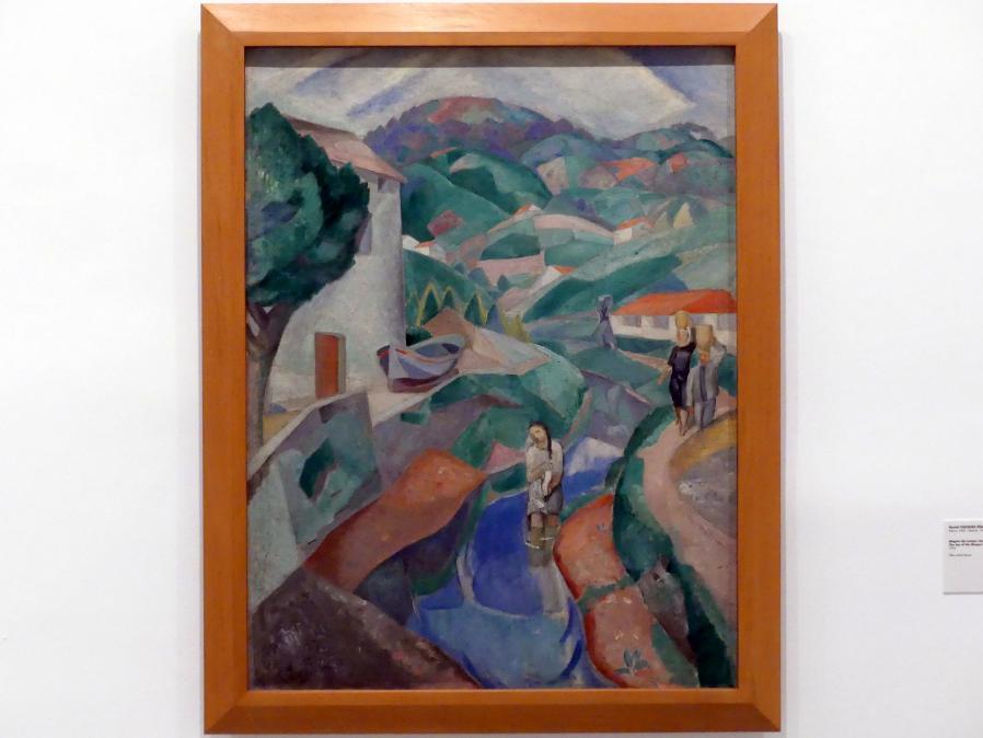 Daniel Vázquez Díaz: Freude an der baskischen Landschaft, 1920