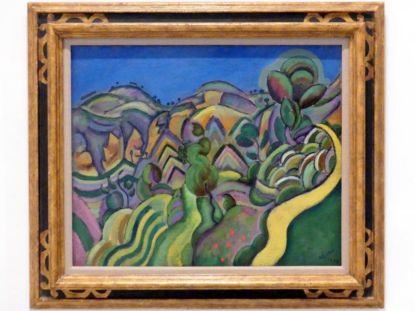 Joan Miró: Siurana, der Pfad, 1917