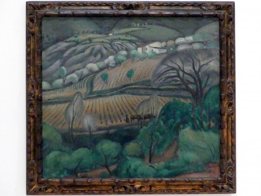 Joaquim Sunyer: Landschaft bei Céret, 1912