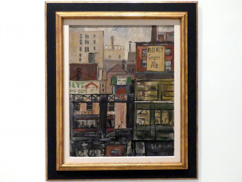 Joaquín Torres García: New York, 1921