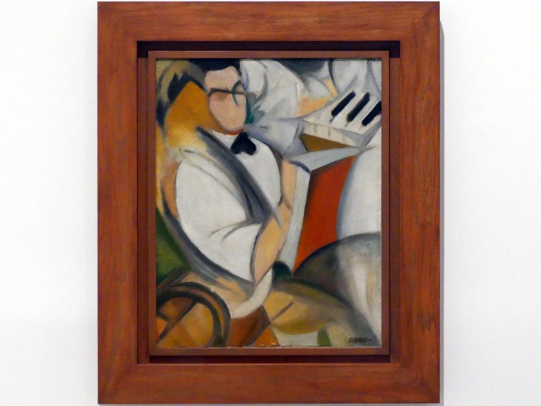 Rafael Barradas: Porträt von Antonio, um 1920 - 1922