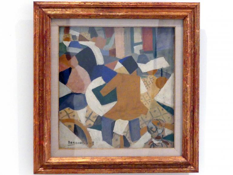 Rafael Barradas: Vibrationistisches Stillleben, 1918