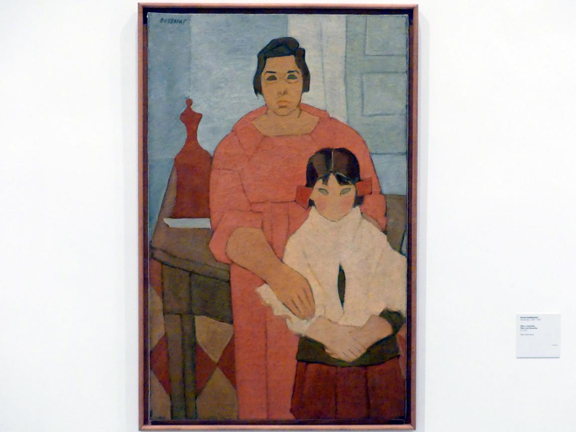 Rafael Barradas: Pilar und Antoñita, um 1922