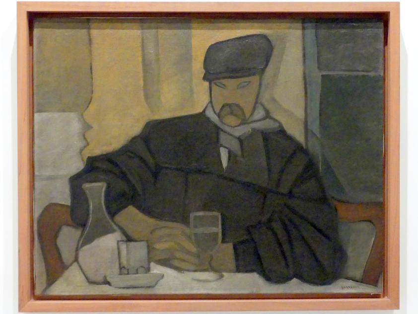 Rafael Barradas: Mann im Café (Atocha), 1923