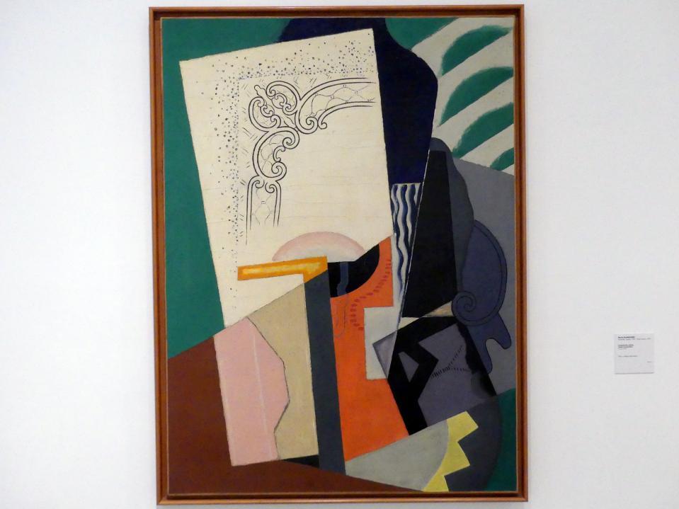 María Gutiérrez Blanchard: Kubistische Komposition, 1916 - 1919