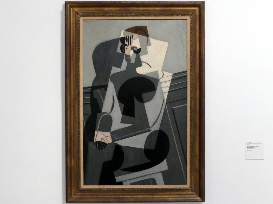 Juan Gris: Porträt Josette Gris, 1916