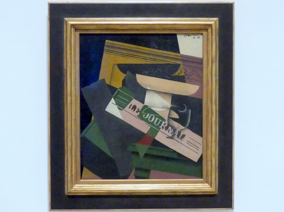 Juan Gris: Trauben, 1916