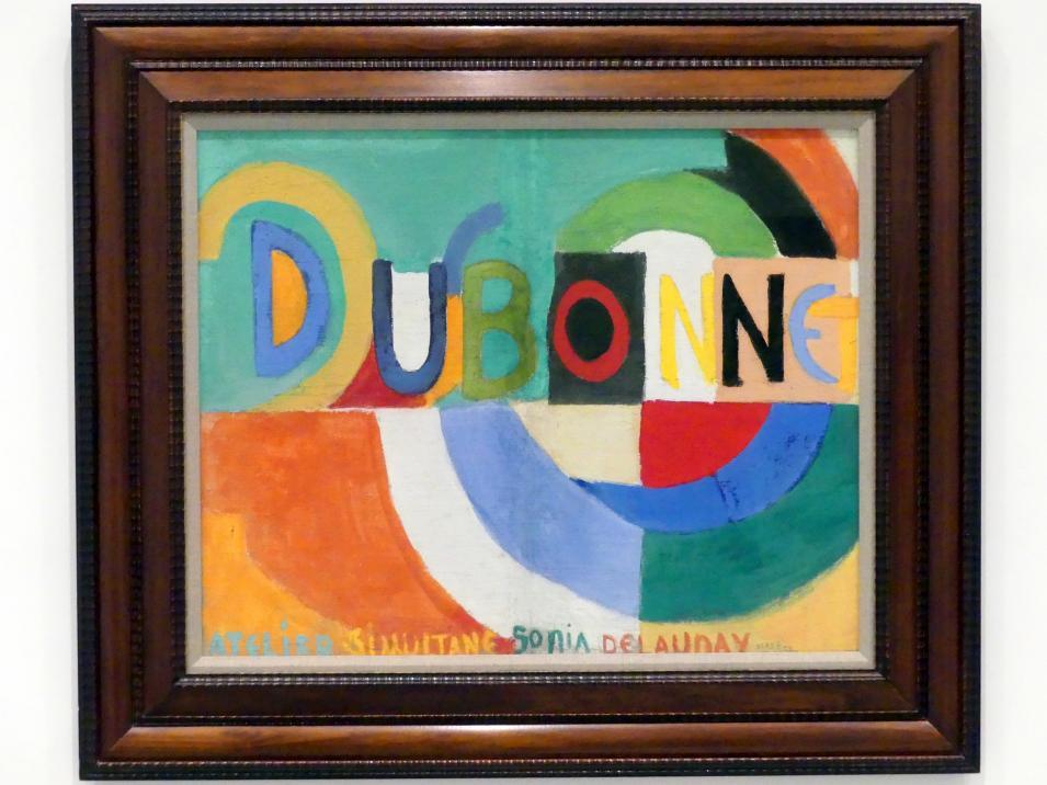Sonia Delaunay-Terk: Dubonnet, 1914