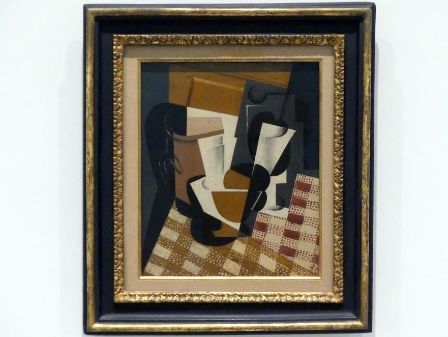 Juan Gris: Krug und Glas, 1916