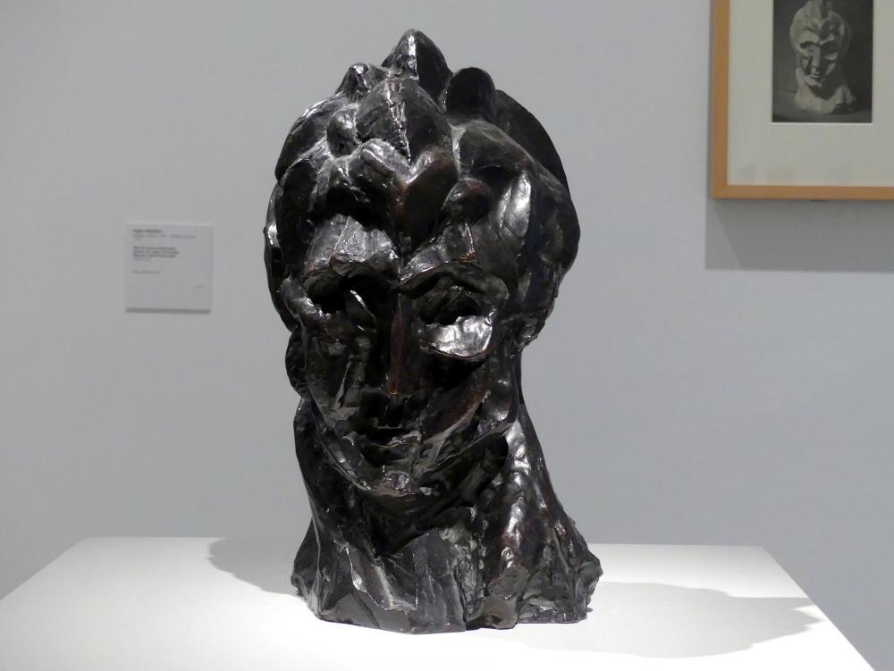Pablo Picasso: Frauenkopf (Fernande), 1909