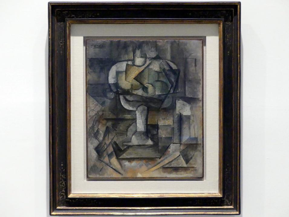 Pablo Picasso: Obstschale, 1910