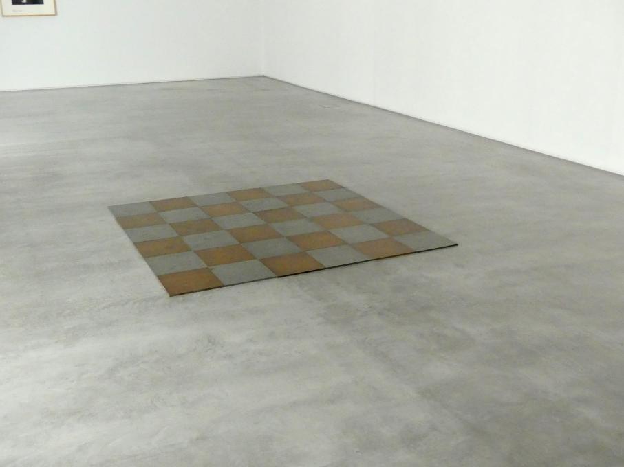 Carl Andre: Magnesium-Kupfer-Ebene, 1969 - 1970
