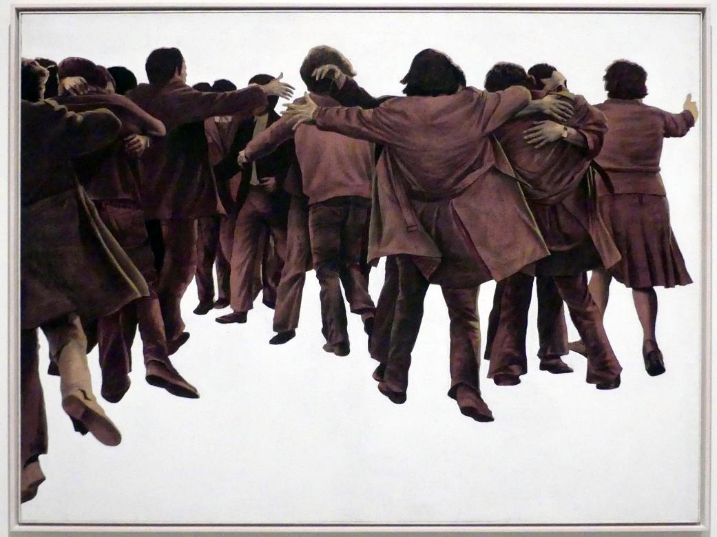 Juan Genovés: Umarmung, 1976