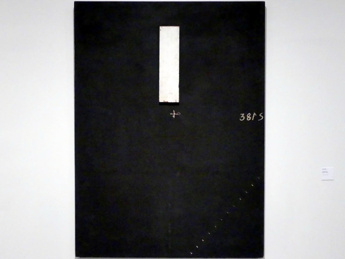 Antoni Tàpies: Großes Braun und Holz, 1975
