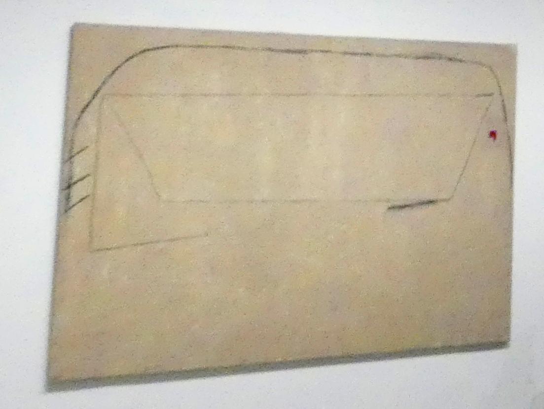 Antoni Tàpies: Komposition mit Zahlen, 1976