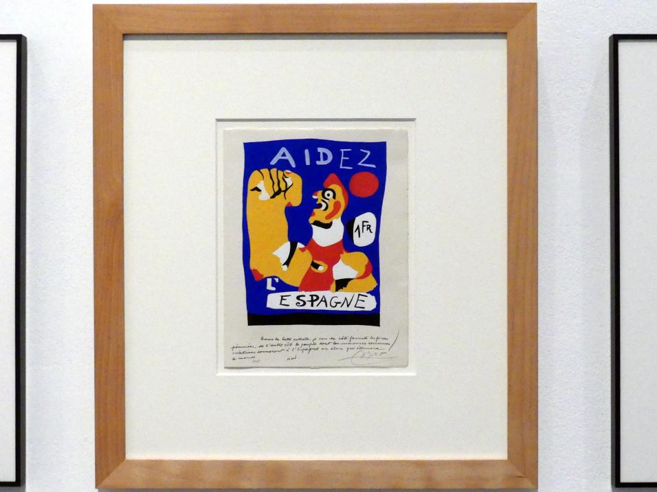 Joan Miró: Helfen Sie Spanien, 1937