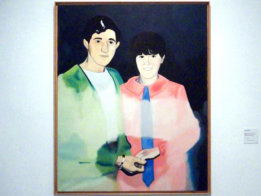 Eduardo Arroyo: Der Tag an dem ich meine erste Liebe traf, 1971