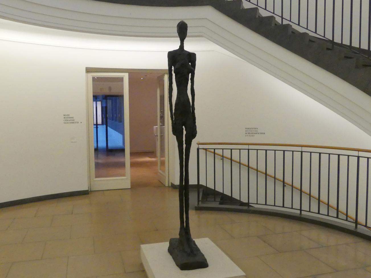 Alberto Giacometti: Große Stehende Frau III, 1960