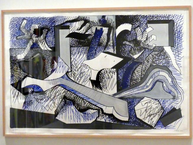 Thomas Scheibitz: Picasso Studie (nach Graffiti), 2019