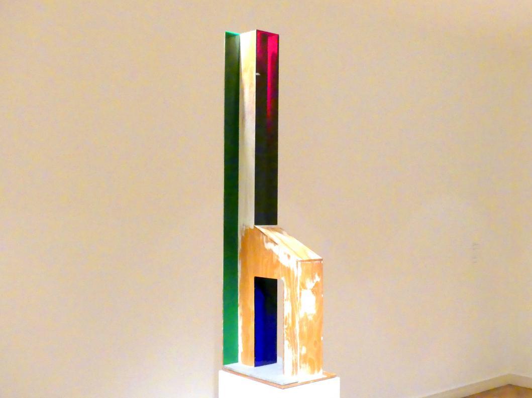 Thomas Scheibitz: Lichtfigur (Haus), 2010