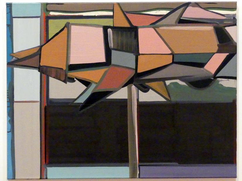Thomas Scheibitz: Kubistische Figur, 1997 - 1998