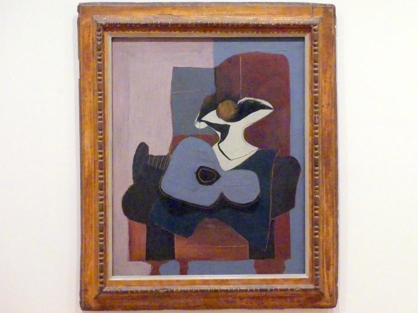 Pablo Picasso: Stillleben mit blauer Gitarre, 1924