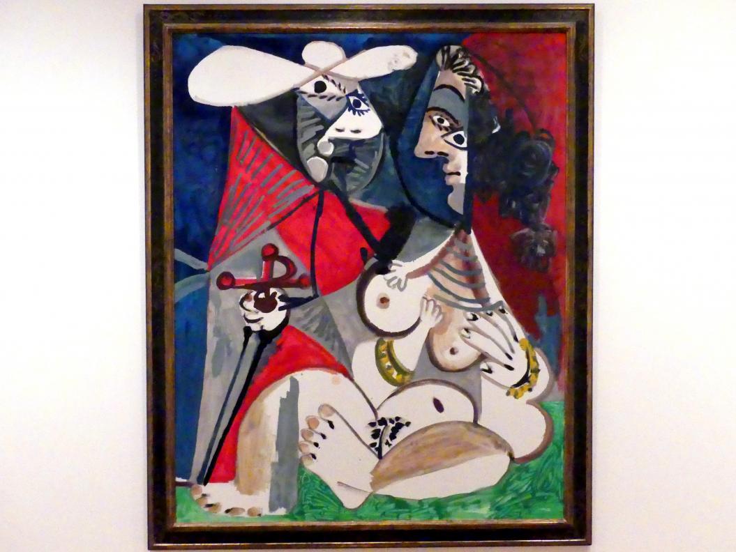 Pablo Picasso: Matador und Akt, 1970