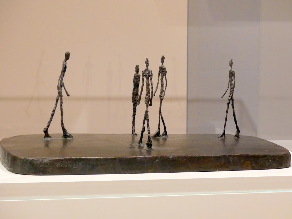 Alberto Giacometti: Der Platz II, 1948 - 1949