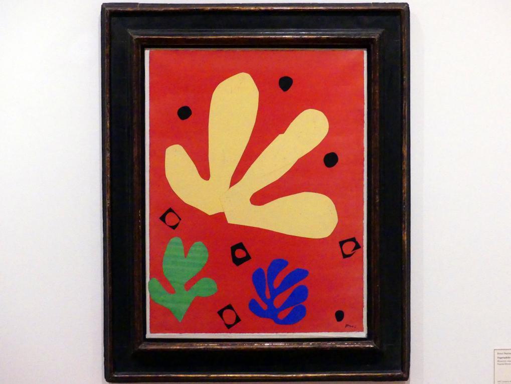 Henri Matisse: Vegetabile Elemente, 1947