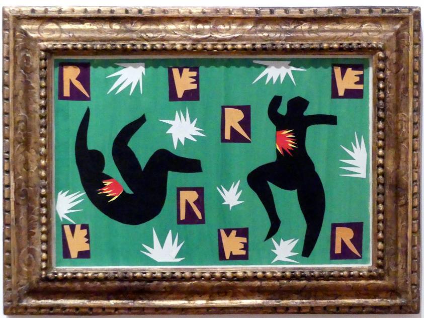 """Henri Matisse: Umschlagentwurf für """"Verve IV"""", Nr. 13, 1943"""