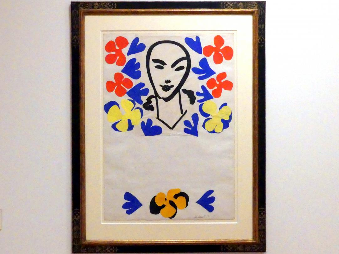 Henri Matisse: Originalentwurf für das Ausstellungsplakat der Tate Gallery London (1953), 1952