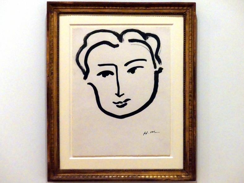 Henri Matisse: Frauenkopf, 1908