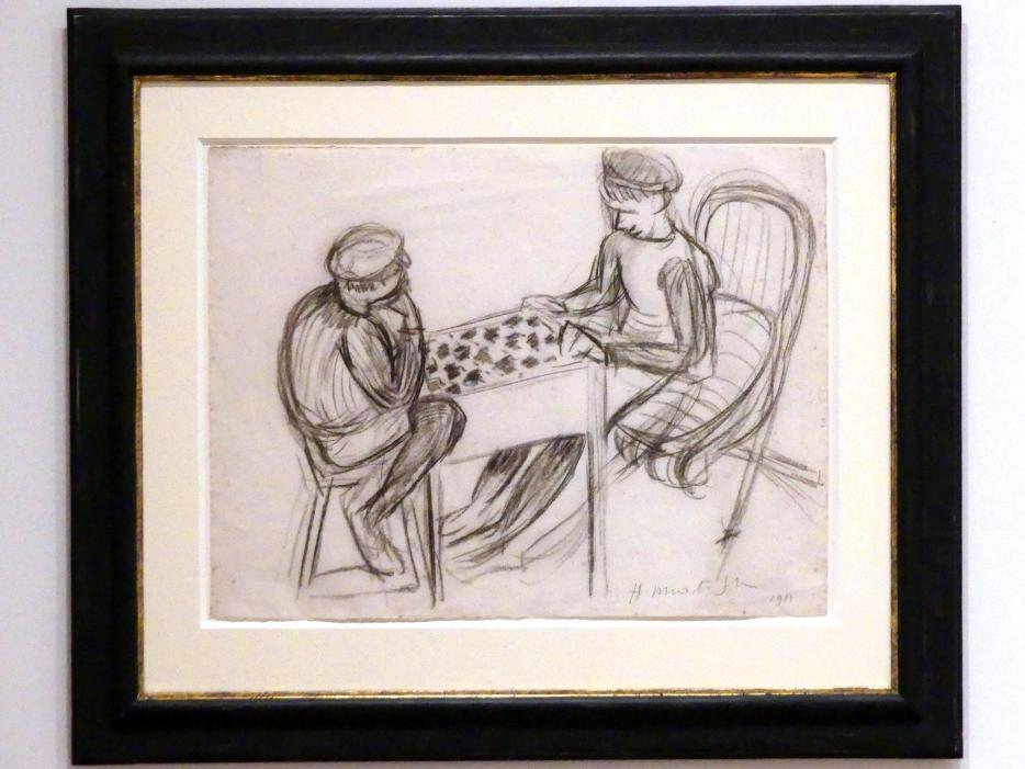 Henri Matisse: Zwei Jungen beim Damespiel, 1911