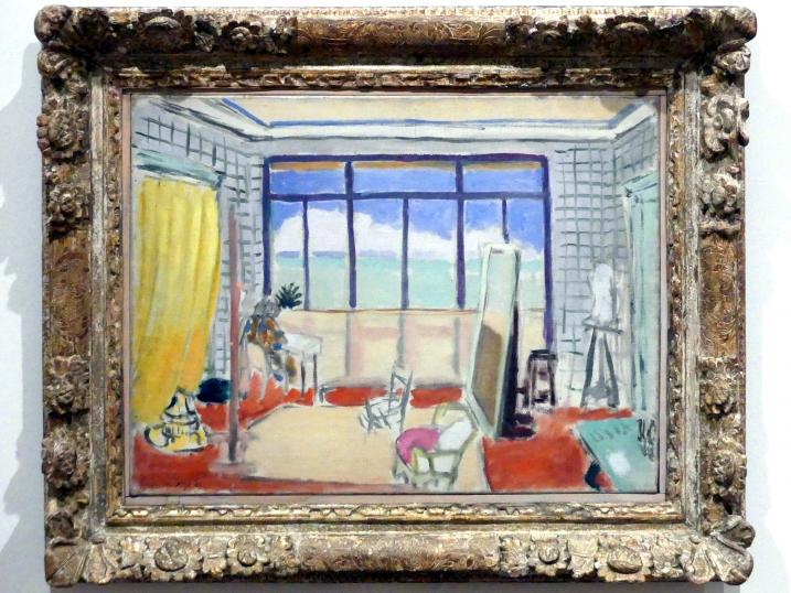 Henri Matisse: Im Atelier in Nizza, 1929
