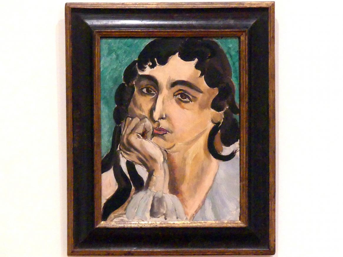 Henri Matisse: Porträt Lorette, 1917