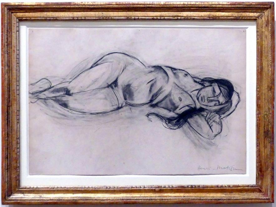Henri Matisse: Liegender Akt (Lorette), 1917