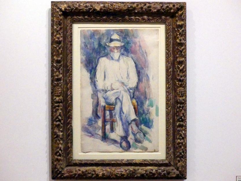 Paul Cézanne: Bildnis des Gärtners Vallier, um 1906