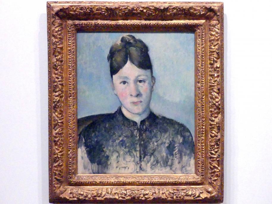 Paul Cézanne: Madame Cézanne, um 1885