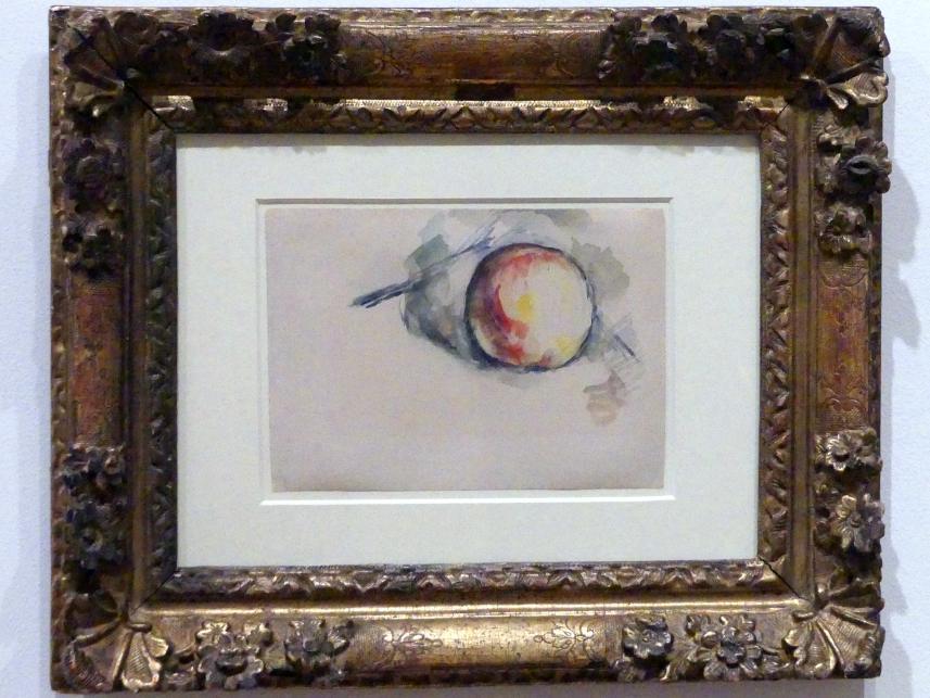 Paul Cézanne: Apfel-Studie, um 1885