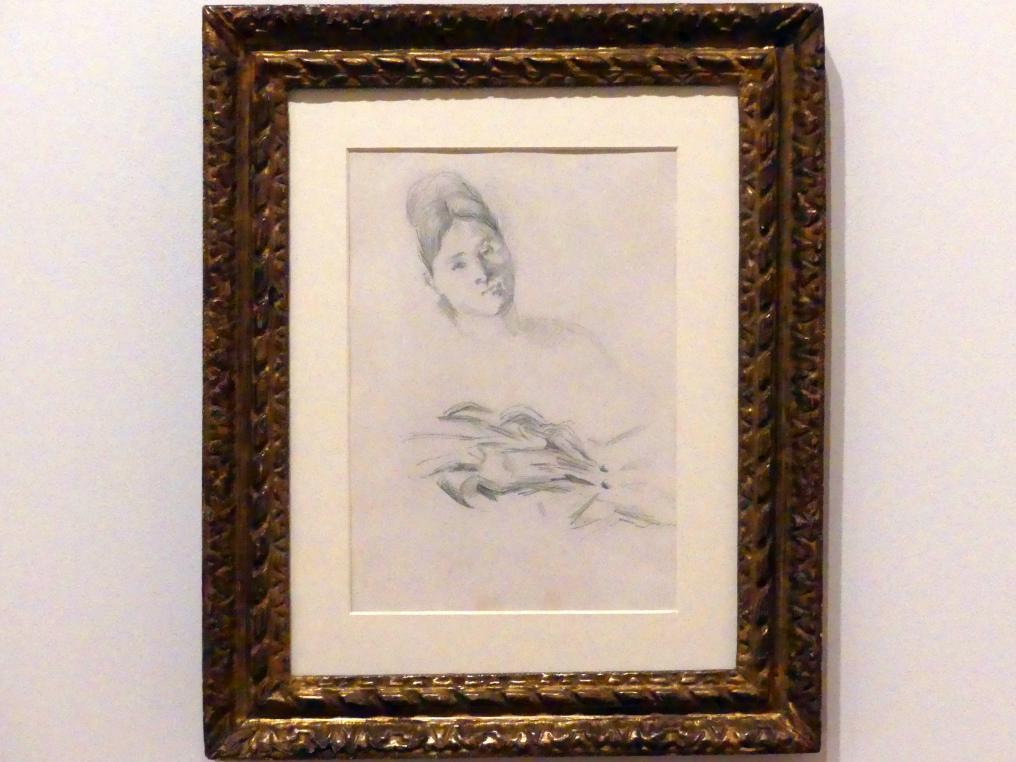 Paul Cézanne: Hortense Fiquet (Madame Cézanne), um 1874 - 1876