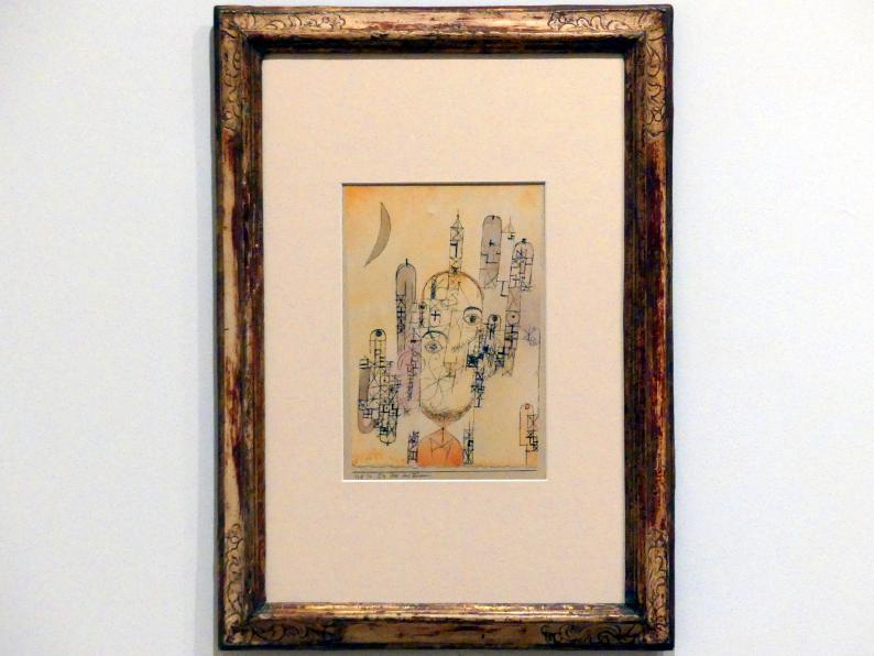 Paul Klee: Die Idee der Türme, 1918