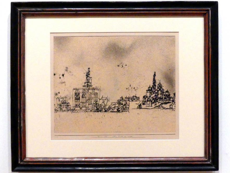 Paul Klee: alte Stadt am Wasser, 1924