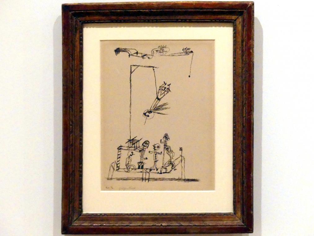 Paul Klee: Galgenhumor, 1919