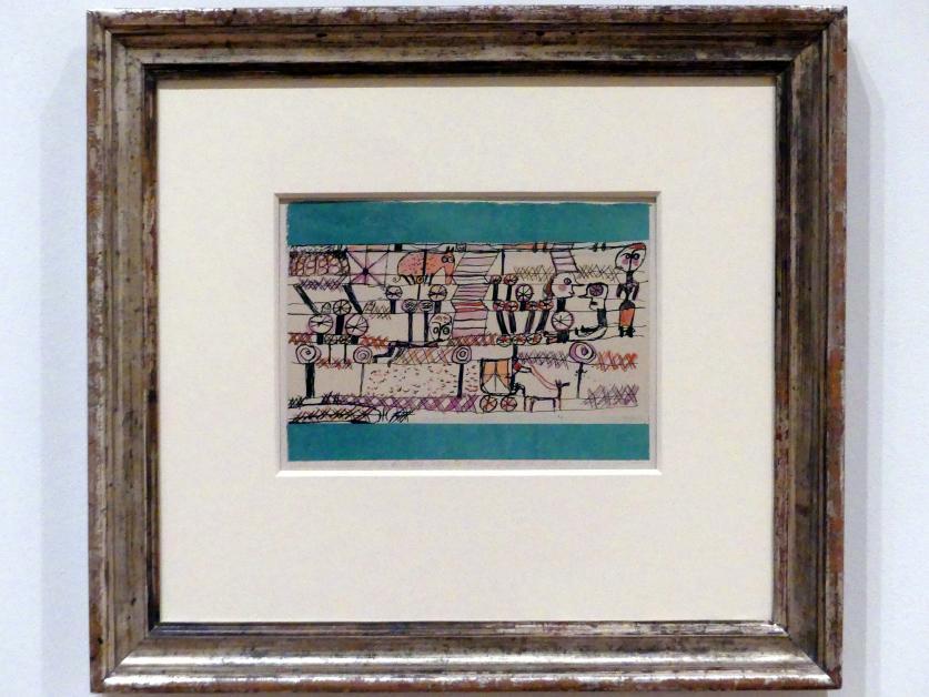 Paul Klee: Bilderinschrift für Irene, wenn sie einmal grösser ist (Nr. 1), 1920