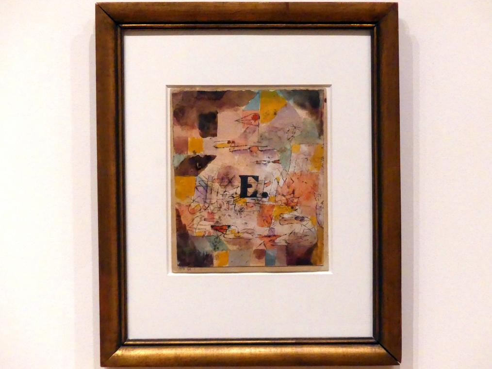 Paul Klee: Enten, 1919
