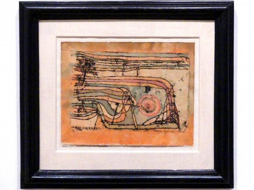 Paul Klee: Landschaft im Paukenton, 1920
