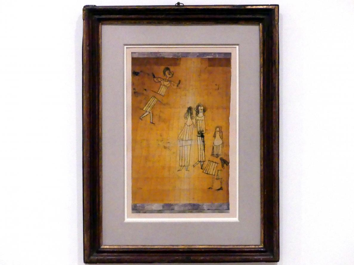 Paul Klee: Scene unter Mädchen, 1923