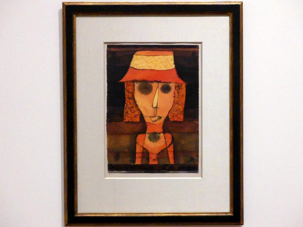 Paul Klee: Frau R. auf Reisen im Süden, 1924