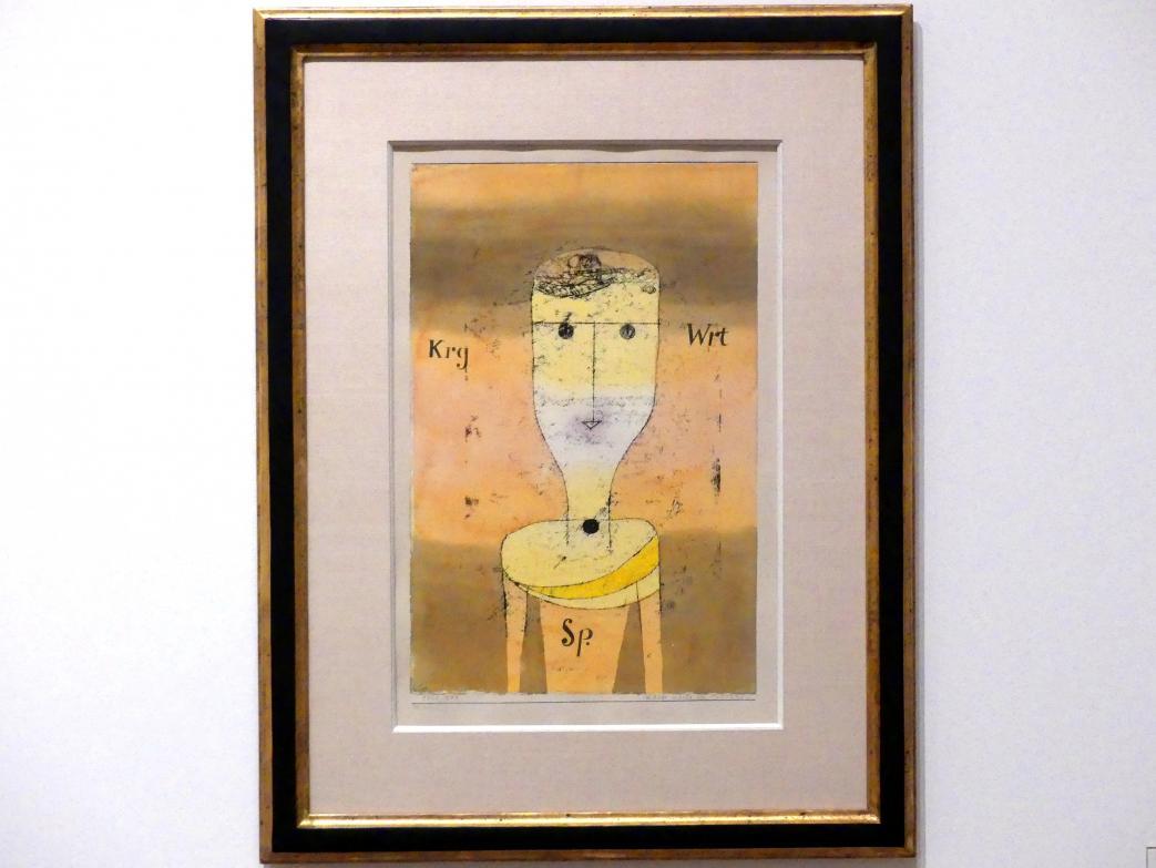 Paul Klee: Karge Worte des Sparsamen, 1924